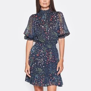 Joie SHIMA  Smocked Details Dress *NWT*
